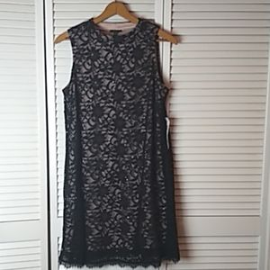 Tiana B Black Lace Dress
